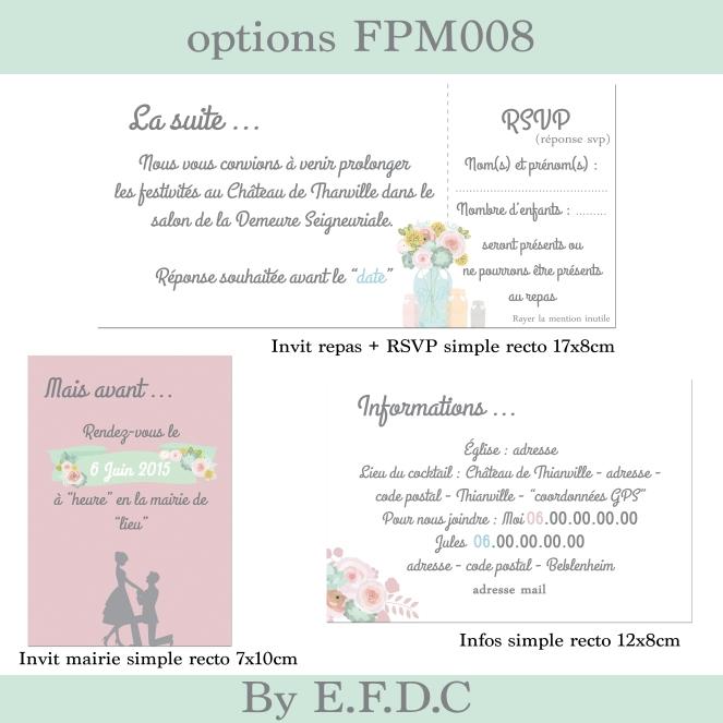 options FPM008