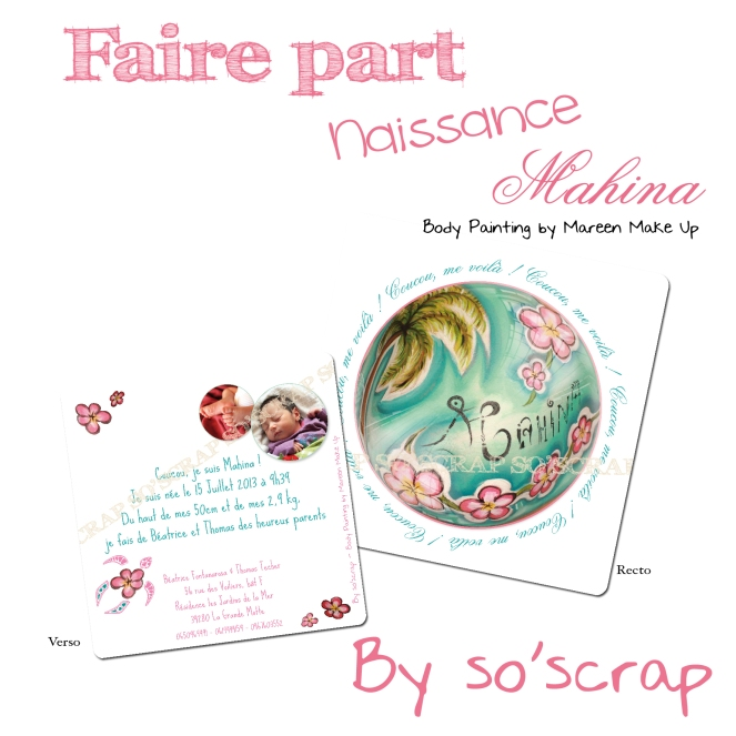 #fairepartnaissanceexotique