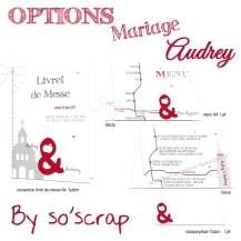 options mariage audrey