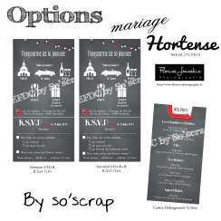options mariage hortense