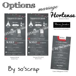 options mariage hortense